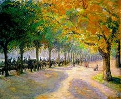 Hyde Park, London - Camille Pissarro
