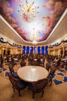 Be Our Guest Restaurant in New Fantasyland is the best counter service option in the Magic Kingdom at Walt Disney World for lunch. Here, you step inside Be