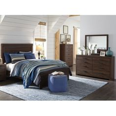 Walnut Park 3 Pc King Bedroom | Weekends Only Furniture and ...