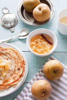 Crepes with Asian Pears Compote | 29 Delicious Ways To Eat More Pears