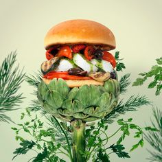 Fat & furious burger. : Photo