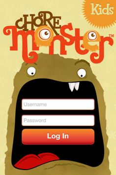 Chore Monster App and Website
