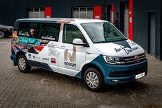 Car Folie, Custom Wraps, Transporter, Car Wrap, Volkswagen, Vans, Branding, Vehicles, Design