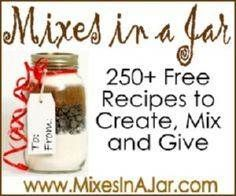 Jar recipes…the art of being frugal is also the art of sharing from the heart…. Jar recipes…the art of being frugal is also the art of sharing from the heart. check this site out for special ideas. don't buy a gift, create from the heart and soul. Mason Jars, Mason Jar Gifts, Gift Jars, Food Gifts, Craft Gifts, Diy Gifts, Holiday Fun, Holiday Crafts, Christmas Gifts