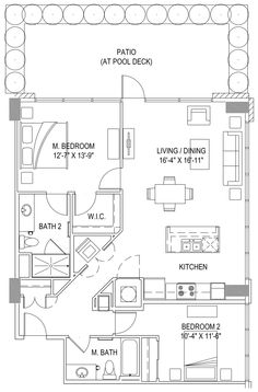 One Light Apartments   Luxury Apartments in Kansas City Unit 407