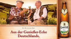 Privatbrauerei Ganter - DIE CREW AG Werbeagentur - Ein Bier mit Leidenschaft. Ein Bier, mit Ruhe gereift. Kurz: Ein Bier wie unser Land. Für GANTER aus Freiburg im Breisgau entwickelten wir unter anderem eine Kommunikationsstrategie, die Emotionen, Gefühl und Heimatverbundenheit transportiert. #diecrew #Werbeagentur #Ganter #Bier #Marketing #Flasche #sixpack