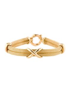 Gold Cable Bracelet, this would be so beautiful with a simple white flowing dress