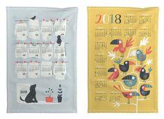 26 unique and wonderful 2018 calendar tea towels Canvas Ideas, Canvas Art, Baby Posters, Print Calendar, Small Canvas, Surface Pattern Design, Tea Towels, Illustrations Posters, Spoonflower