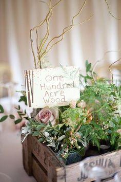 Woodland theme cute sign