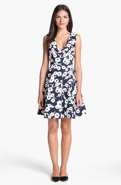 loving this fit and flare dress - adorable!!
