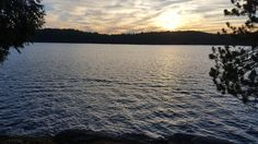 Gull Lake Minden Canada: Took this while at my friend's cottage this weekend [5212x2988] [OC]