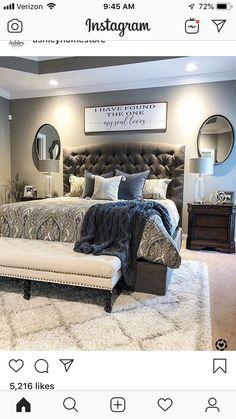 Rugs Master Bedroom Design, Home Decor Bedroom, Master Bedroom Makeover, Modern Bedroom Design, Dream Bedroom, Bedroom Inspo, Bedroom Pics, Bedroom Furniture, Master Bedrooms