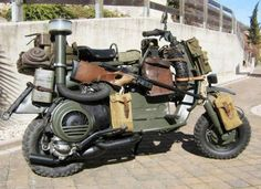 'It's coming!' 12 Vehicle Mods to Survive the Zombie Apocalypse. Check out this badass ride! #spon #apocalypse