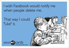 I wish Facebook...