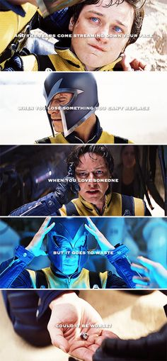 And I will try to fix you #xmen