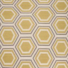 hex: yellow & grey rug  ||  visit jillrosenwald.com, starting at $73