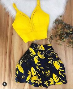 800 Likes, 14 Comments - Moda feminina & afins Girls Fashion Clothes, Teen Fashion Outfits, Edgy Outfits, Swag Outfits, Colourful Outfits, Mode Outfits, Short Outfits, Mode Simple, Indian Fashion Trends