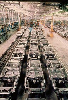 Citroën's CX factory
