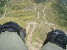 Sobrevolando Merlo. Merlo San Luis, Paragliding, Over Ear Headphones, Scenery
