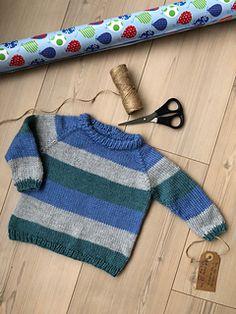 Ravelry: Raglan Sweater pattern by Karen O'Hanlon Cohrt Baby Boy Knitting Patterns Free, Baby Sweater Patterns, Baby Sweater Knitting Pattern, Knit Baby Sweaters, Knitting For Kids, Baby Knitting, Free Knitting, Boys Sweaters, Raglan Pullover