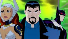 justice league gods and monsters
