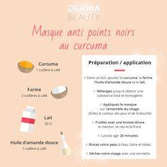 Masque anti points noirs au curcuma - DermaBeauty