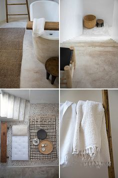 Tadelakt decorating before and after decorating designs design ideas Eclectic Bathroom, Bathroom Interior Design, Modern Bathroom, Serene Bathroom, Bathroom Inspiration, Interior Inspiration, Bathroom Ideas, Bathroom Designs, Natural Modern Interior