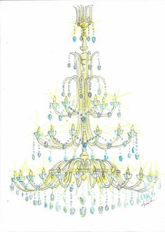 Classic cristal chandelier design. 45 Lights. by Living-Light Italy