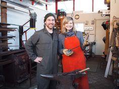 Blacksmithing With Meg