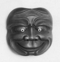 Netsuke of Noh Mask
