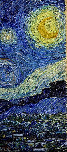 'Starry Night,' circa 1889, Vincent van Gogh
