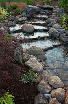 For our seasonal creekbed when it's not a creek