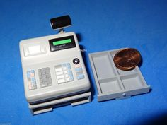Re-ment Miniature CASH REGISTER with DRAWER for Dolls 1/6 Scale RARE Barbie Size | eBay