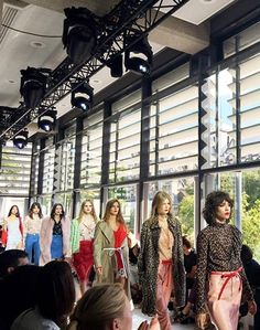 Topshop Unique made a lasting impression at London Fashion Week with bold patterns and colors for spring '16.