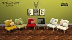 ALASDAIR CHAIR at Leo Sims via Sims 4 Updates  Check more at http://sims4updates.net/furniture/alasdair-chair-at-leo-sims/