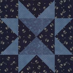 February 20. Sawtooth Variation.  The basic Sawtooth Star was first published as a quilt block pattern by Farm and Fireside in 1884, according to Barbara Brackman.