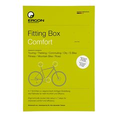 Ergon Fitting Box #ergonbike #ergon #ergonomics #fitting #fittingbox
