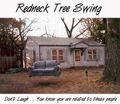 Redneck Tree Swing