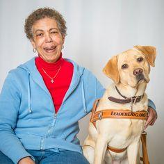 https://flic.kr/p/F97ZVb | Josephine Grove and Lacy, yellow lab (puppy raiser: Janice Van Wulfen)