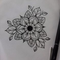 J mandala flower tattoos, flower mandala, flower tattoo designs, tatoo Mandala Arm Tattoo, Mandala Flower Tattoos, Flower Tattoo Designs, Flower Mandala, Mandala Drawing, New Tattoos, Body Art Tattoos, Sleeve Tattoos, Cool Tattoos