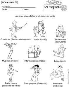 SGBlogosfera. María José Argüeso: TRABAJAMOS LAS PROFESIONES EN INGLÉS