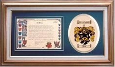 $109.99 Ball Family Name History and Coat of Arms / Family Crest