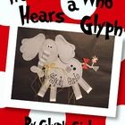 Read Across America Week!  Horton Hears a Who Glyph with  Writing activities.--This is so cute
