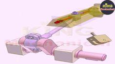 MECHANICAL MECHANISM - Slider-crank mechanism for adjusting stroke position