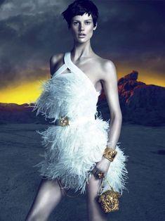 Versace Fall 2011 Campaign   Saskia de Brauw by Mert & Marcus