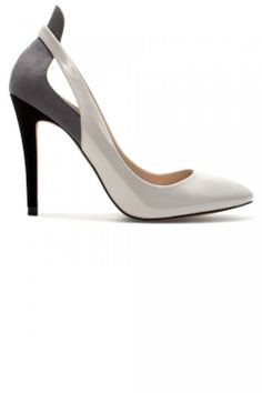 Zara Monochrome Heels Under $40 ...at this price everyone can be worthy of a catwalk strut.