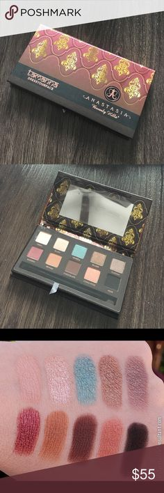 Anastasia Beverly Hills Tamanna Palette brand new without box (i recycle packaging for space purposes) / never before swatched. ✨ open to offers; still on the fence about selling ✨ this palette is discontinued and one i've held onto for collecting purposes but feel i should pass it on to someone who will use it. ❤️ Anastasia Beverly Hills Makeup Eyeshadow