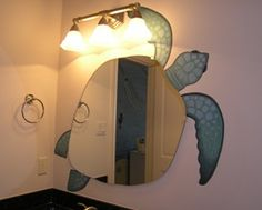 Love this turtle mirror