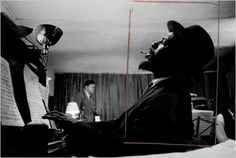 Thelonious Monk, from the Jazz Loft Project, by W. Eugene Smith