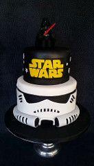 Star Wars Stormtrooper Cake (Skye's Delights) Tags: cake star starwars stormtrooper wars vader darthvader